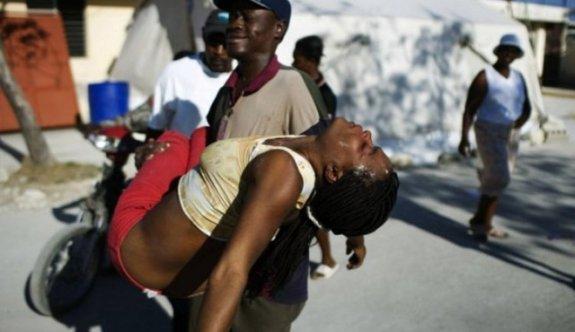 Haiti'de Kolera Salgını