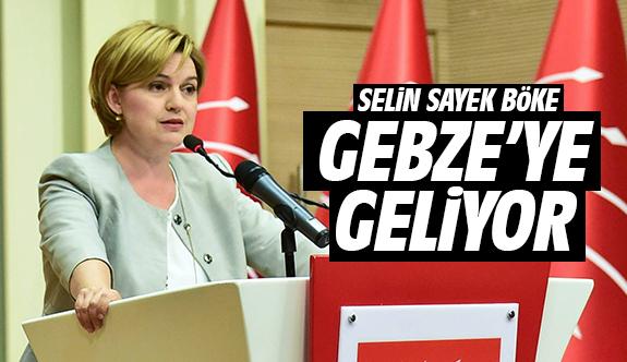 Selin Sayek Böke, Gebze'ye Geliyor