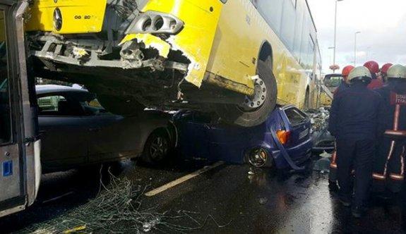 Şemsiyeli saldırgan metrobüs şoförünü suçladı