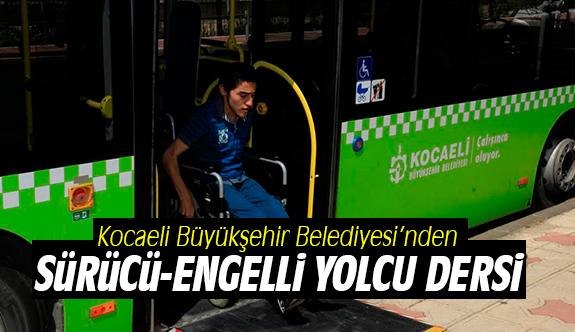 Sürücü-Engelli Yolcu Dersi