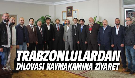 Trabzonlulardan Dilovası Kaymakamına Ziyaret