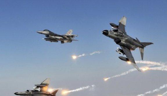 TSK'dan DAEŞ'e 11 hava harekâtı!