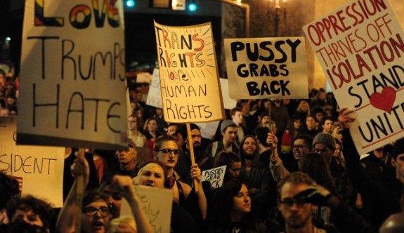 ABD'de Trump karşıtı sokak protestolarında kan aktı