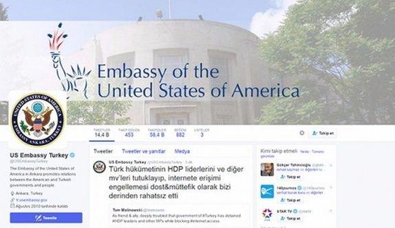 ABD'den HDP mesajı!