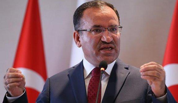 Adalet Bakanı Bekir Bozdağ: Konu kapanmıştır