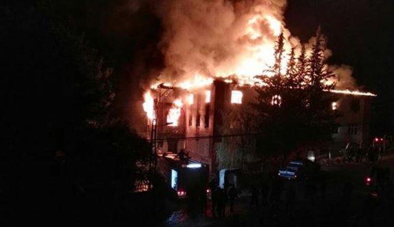 Adana'da yangının çıkış sebebi belli oldu