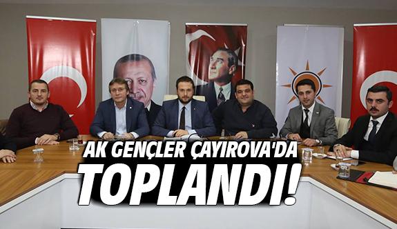 Ak Gençler Çayırova'da Toplandı!