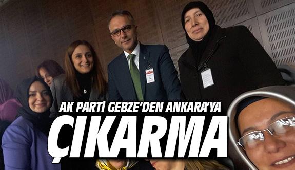 Ak Parti Gebze'den Ankara'ya çıkarma