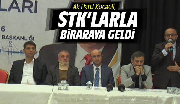 Ak Parti Kocaeli , STK'larla Biraraya Geldi