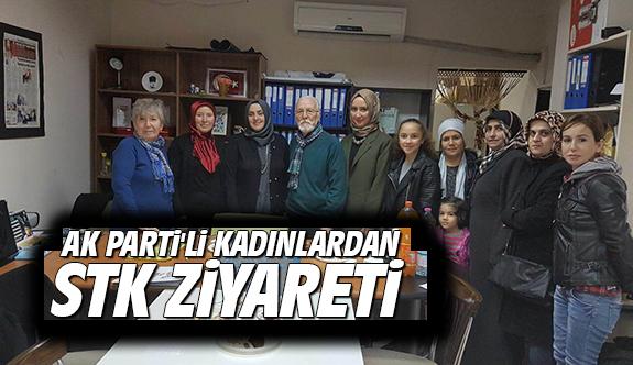 AK Parti'li kadınlardan STK ziyareti