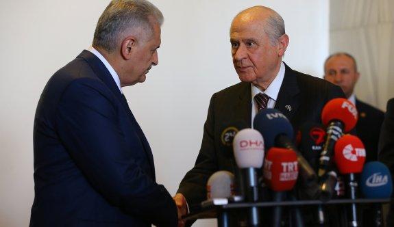 AK Parti ve MHP arasındaki müzakereler tamamlandı