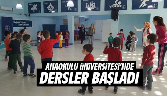 Anaokulu Üniversitesi'nde dersler başladı