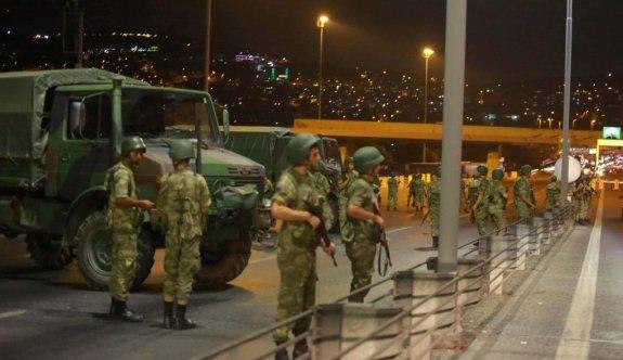 Askerlere yönelik ilk 15 Temmuz iddianamesi kabul edildi