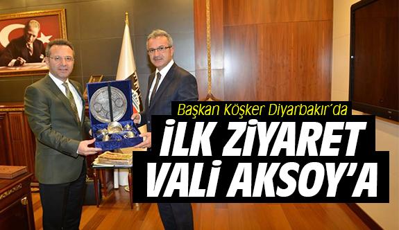 Başkan Köşker Diyarbakır'da