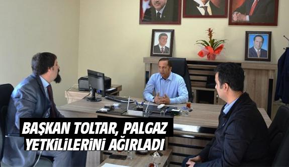 Başkan Toltar, Palgaz Yetkililerini Ağırladı