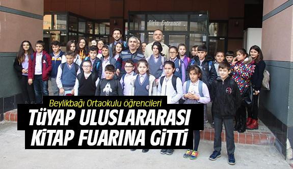 Beylikbağı Ortaokulu öğrencileri TÜYAP Uluslararası Kitap Fuarına gitti