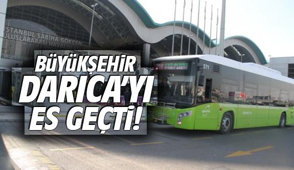 Büyükşehir Darıca'yı es geçti!
