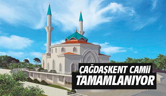 Çağdaşkent Camii Tamamlanıyor