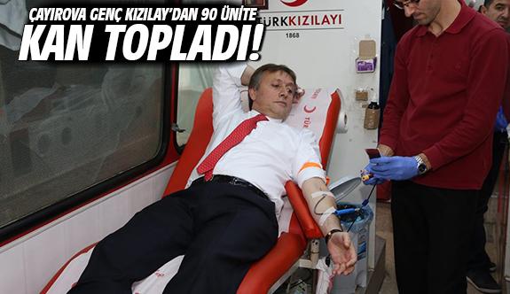 Çayırova Genç Kızılay'dan 90 Ünite Kan Topladı!