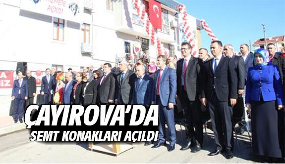 Çayırova'da semt konakları açıldı