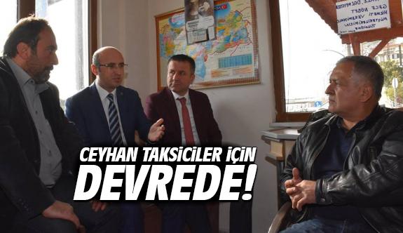 Ceyhan Taksiciler için devrede!