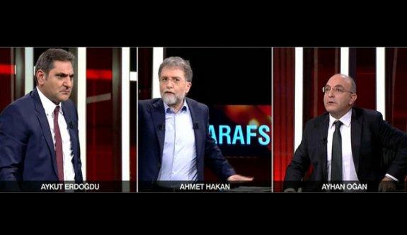 CNN Türk'te CHP'li Erdoğdu ve AK Partili Oğan kavga etti