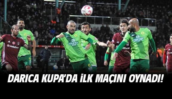 Darıca Gençlerbirliği Beşiktaş maçı sonucu ve özeti