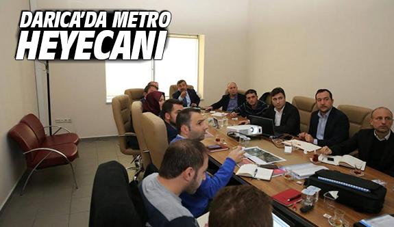 Darıca'da Metro Heyecanı