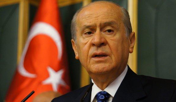 Devlet Bahçeli: AK Parti'ye evet demedik!