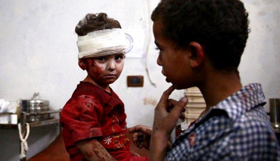 Esed rejimi yine çocukları katletti