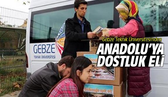 Gebze Teknik Üniversitesi'nden Anadolu'ya Dostluk Eli