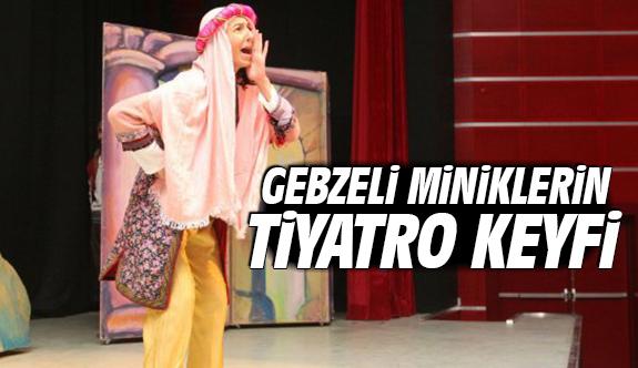 Gebzeli Miniklerin Tiyatro Keyfi