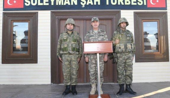 Genelkurmay Başkanı Akar'dan Süleyman Şah ziyareti