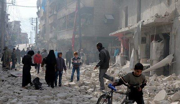 Halep'te hastaneler çalışmıyor