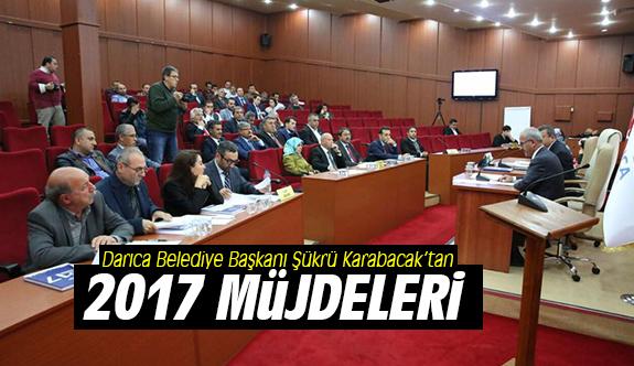 Karabacak'tan 2017 müjdeleri