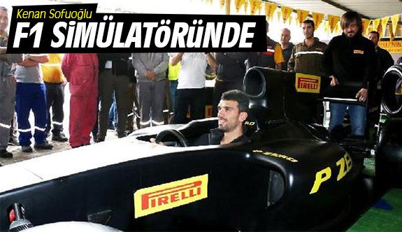 Kenan Sofuoğlu, F1 simülatöründe