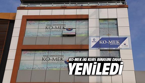 KO-MEK iki kurs binasını daha yeniledi