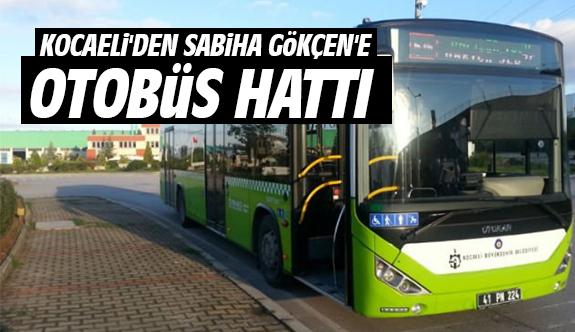 Kocaeli'den Sabiha Gökçen'e Otobüs Hattı