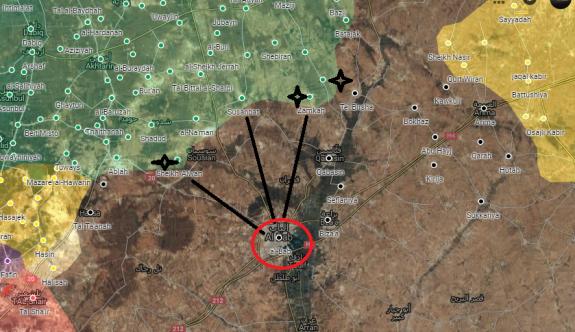 ÖSO, Bab'a doğru 3 bölgeyi daha ele geçirdi
