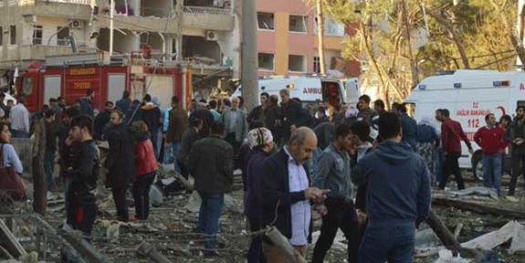 Patlamanın ardından olaylar çıktı!