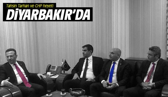 Tahsin Tarhan ve CHP heyeti Diyarbakır'da