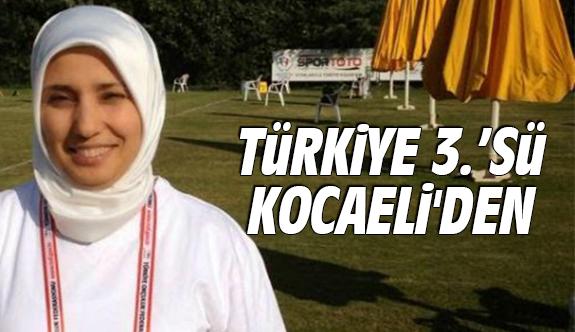 Türkiye 3.'sü Kocaeli'den