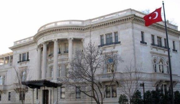 Türkiye'nin Paris Büyükelçiliği'ne saldırı!
