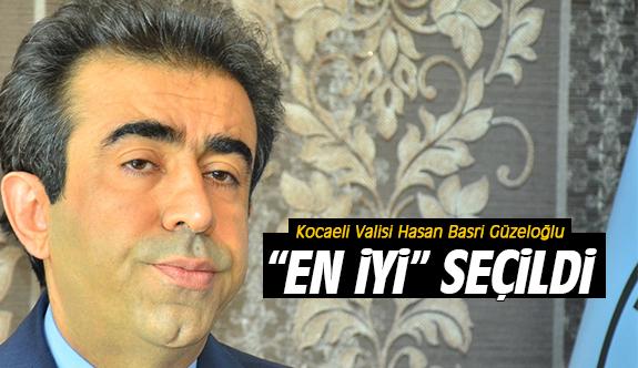 """Vali Güzeloğlu """"EN İYİ"""" seçildi"""