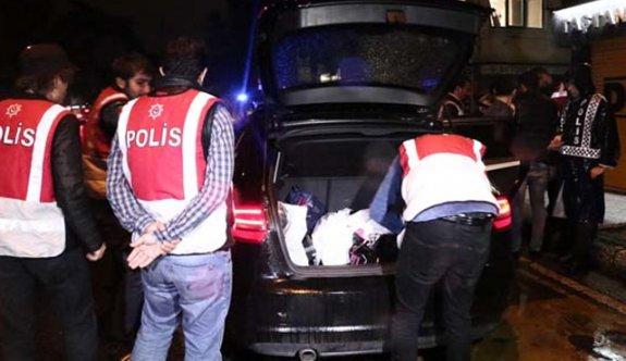 81 ilde 40 bin 507 polisin katılımıyla 'Huzur' operasyonu