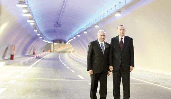 'Avrasya Tüneli'nin doğum konuşması'