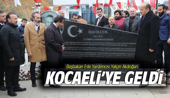 Başbakan Eski Yardımcısı Kocaeli'ye Geldi