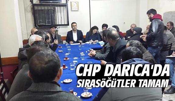 CHP Darıca'da Sırasöğütler tamam