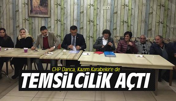 CHP Darıca, Kazım Karabekir'e de temsilcilik açtı