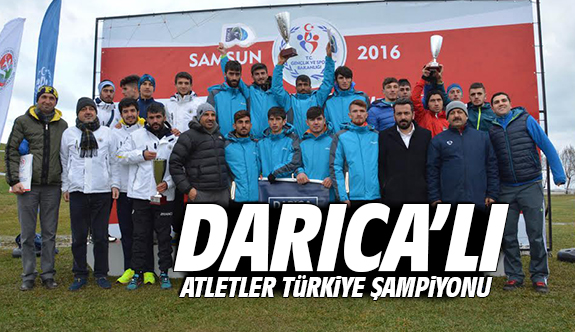 Darıca'lı Atletler Türkiye Şampiyonu